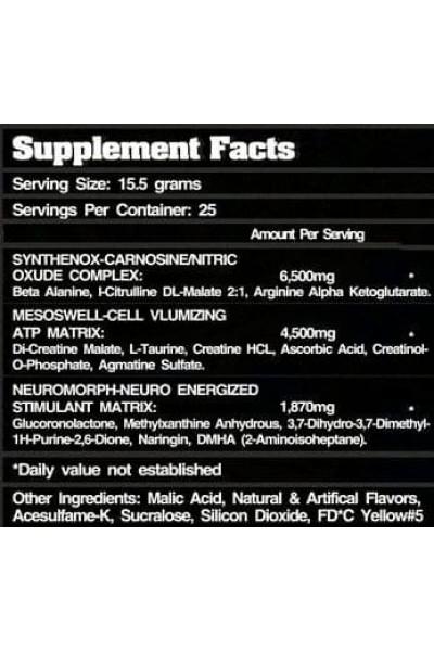 Предтренировочный комплекс Headshot Firebox Nutrition (388 гр)