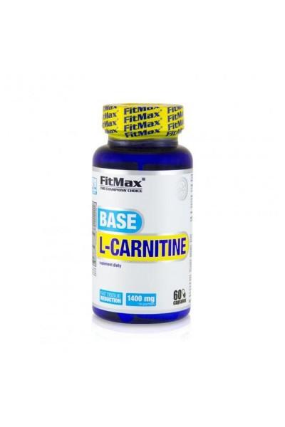 Base L-Carnitine (Л-Карнитин) FitMax - 60 или 90 капсул