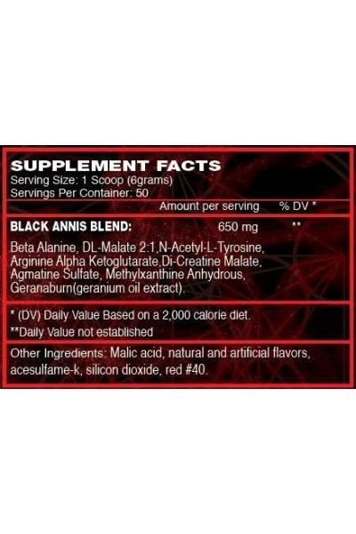 Предтрен Black Anis Gold Star (50 порций)