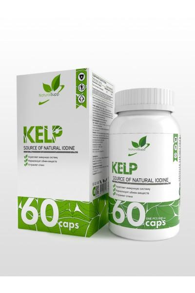 Морской йод Kelp NaturalSupp (60 капсул)