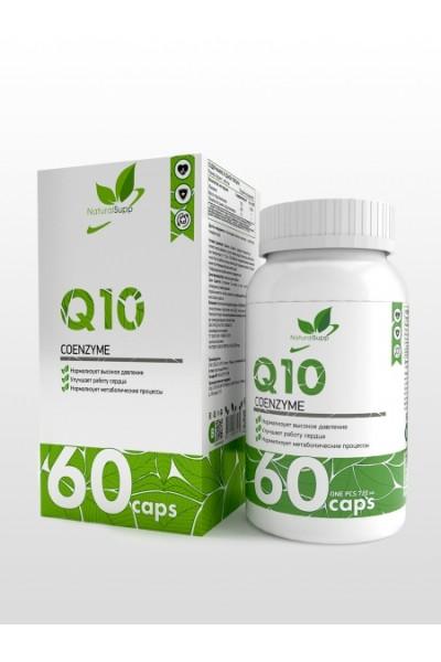 Коэнзим Q10 Coenzyme NaturalSupp (60 капсул)