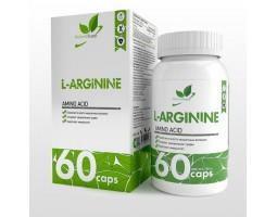 Аргинин (L-аргинин) NaturalSupp 60 капс.