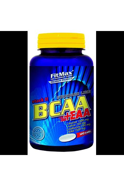 Fit Max BCAA Stack II + EAA (120 и 240 таблеток)