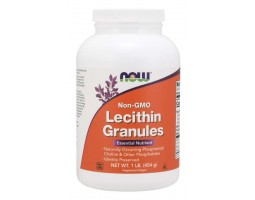Soy Lecithin Granules (в гранулах) Now Foods (454гр.)
