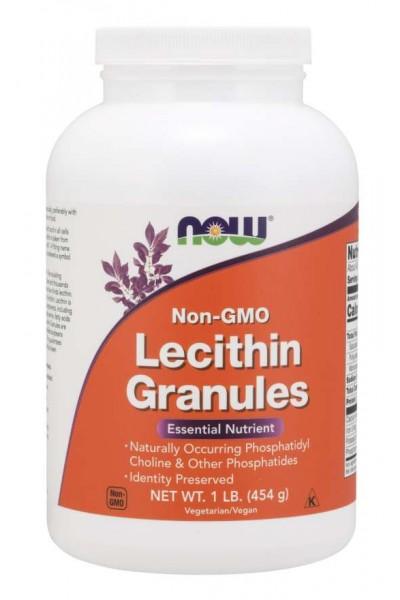 Lecithin Granules (Лецитин в гранулах)  от NOW (454 грамма)