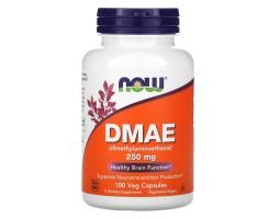 DMAE (диметиламиноэтанол) 250 мг от NOW Foods (100 капс)