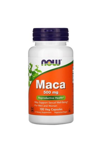 Maca 500 мг от NOW ( 100 caps)