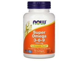 Super Omega 3-6-9 от NOW (90 капс.)