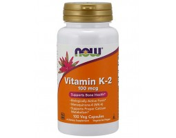 Vitamin K-2 100 mcg от NOW ( 100 caps)