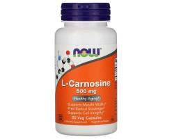 Carnosine (L-Каронин) 500 mg, 50 vcaps
