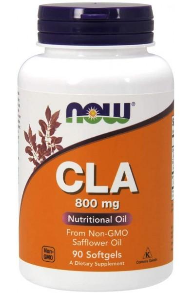 CLA от NOW 800mg (90 капс)