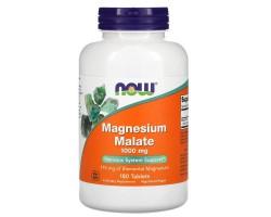 Магний Малат (Magnesium Malate) от NOW 180табл.