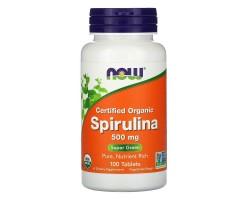 ORG Spirulina (Спирулина Ограническая) 500 mg, 100 tabl