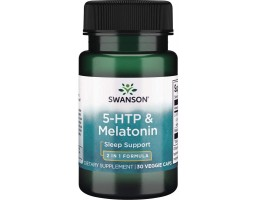 5-htp & Melatonin Swanson (30 вег. капс)