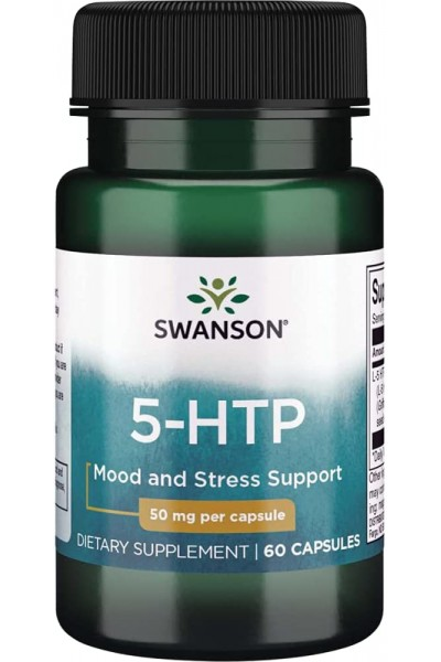 5-НТР Swanson, 50 мг (60 капсул)