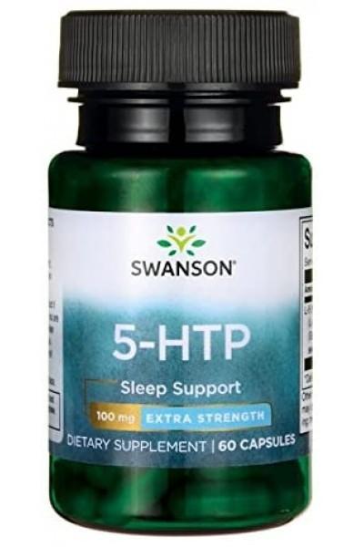 5-НТР Swanson, 100 мг (60 капсул)