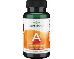 Vitamin A 10000 IU  от Swanson (250 капс.)