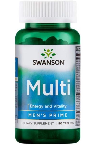 Multi Men's Prime Swanson (мужские витамины), 90 таблеток