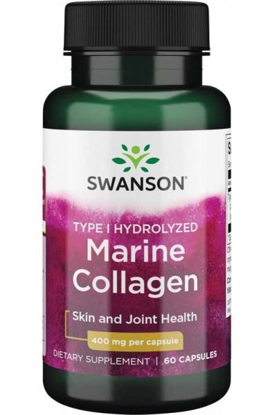 Морской Коллаген (Marine collagen) от Swanson, 60 капсул