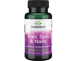 Hair, Skin and Nails Hair (Волосы, Кожа и Ногти) от Swanson, 60 таб.