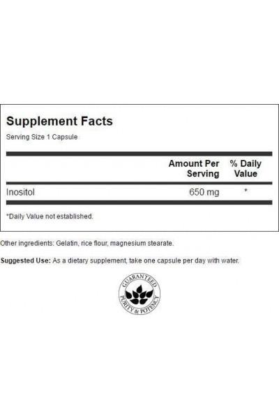Инозитол (Витамин В8) NaturalSupp, 100 капсул
