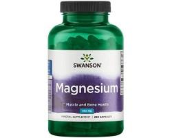 Магний Оксид (Magnesium Oxide) от Swanson 250капс.
