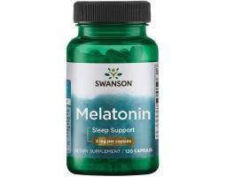 Мелатонин 3 мг от Swanson (120 капс)