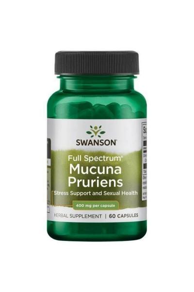 Мукуна жгучая (Swanson Mucuna Pruriens), 60 капсул