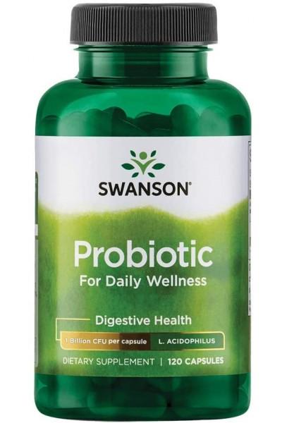 Probiotic (Пробиотик) Swanson, 120 капс.