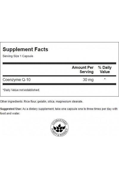 Коэнзим Q10 Coenzyme Swanson (60 , 120 капсул)