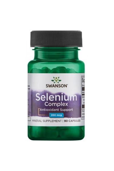 Селен Комплекс (Selenium Complex) от Swanson, 90капсул