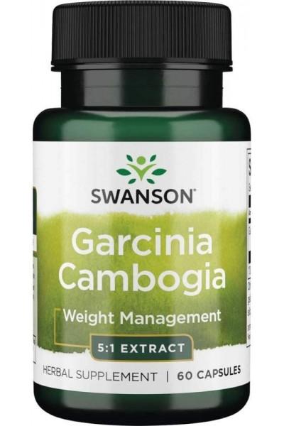 Гарциния камбоджийская (Garcinia Cambogia) от Swanson, 60капсул
