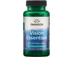 Для зрения Vision Essentials от Swanson, 60 капс.