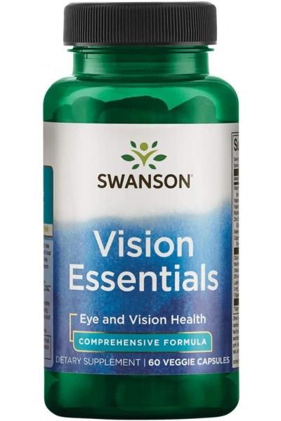 Vision Essentials от Swanson (60 веганских капсул)