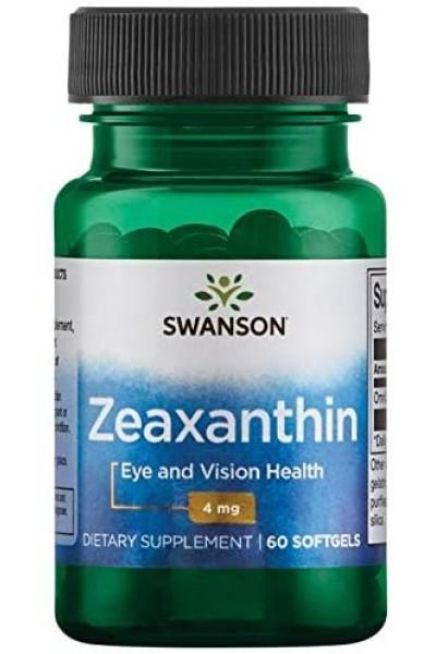 Для зрения Zeaxanthin (Зеаксантин) от Swanson, 60 капс.