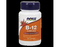 Витамин B12 5000 mcg + Folic Acid (60 капс)