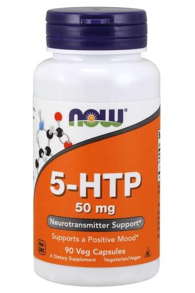 5-HTP 50 mg (5-гидрокситриптофан) от NOW (90 капс)