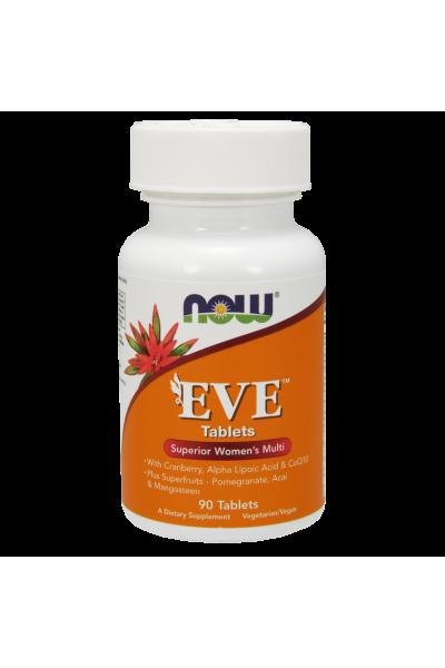 Женский витаминный комплекс EVE от NOW 90табл