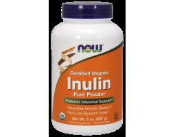 Inulin Pure Powder (пребиотик инулин) от NOW, 227 гр