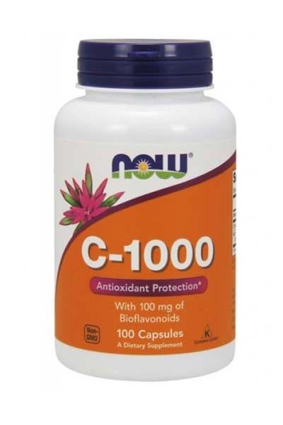 Витамин C - 1000 от NOW FOODS (100 капсул)