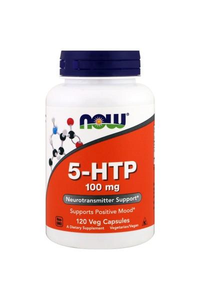 5-HTP 100 mg от NOW (60/120 вег. капс)