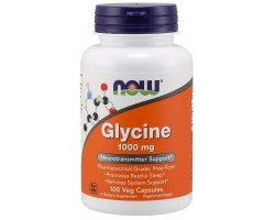 Глицин 1000 мг от NOW Foods (100 капс)