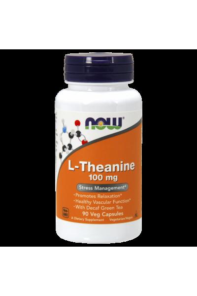 L-Theanine (L-Тианин) 100mg 90капс от NOW