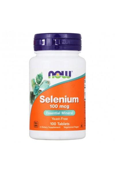 Selenium 100 mcg от NOW ( 100 t)