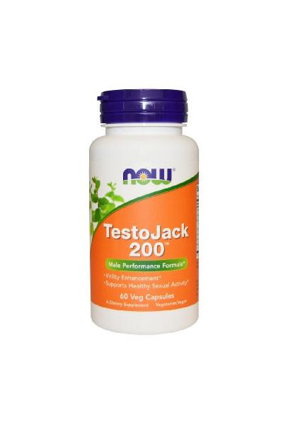 TestoJack 200 от NOW  Foods (60 капсул)
