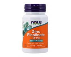 Zinc Picolinate 50 мг от NOW (60 /120 капс)
