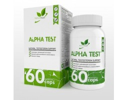 Alpha Test – Natural Testosteron Support (60 капс)