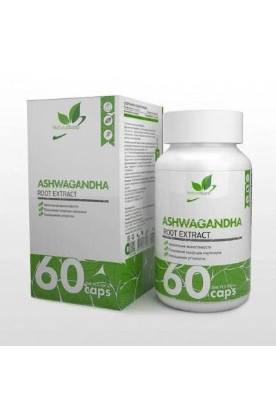 Ашваганда (Ashwagangha NaturalSupp), 60 капсул