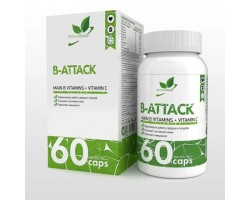 B-Attack – Main B vitamins + vitamin C (60 капс)