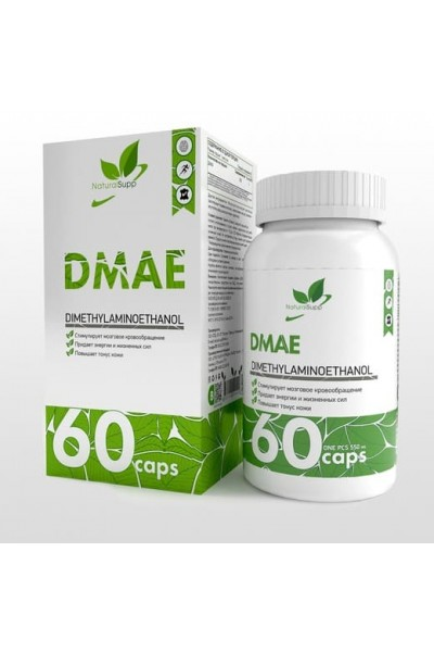 ДМАЕ (DMAE) NaturalSupp, 60 капсул, 250 мг